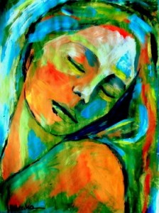 SaatchiOnlineArtist Helena Wierzbicki PaintingEmotional healing